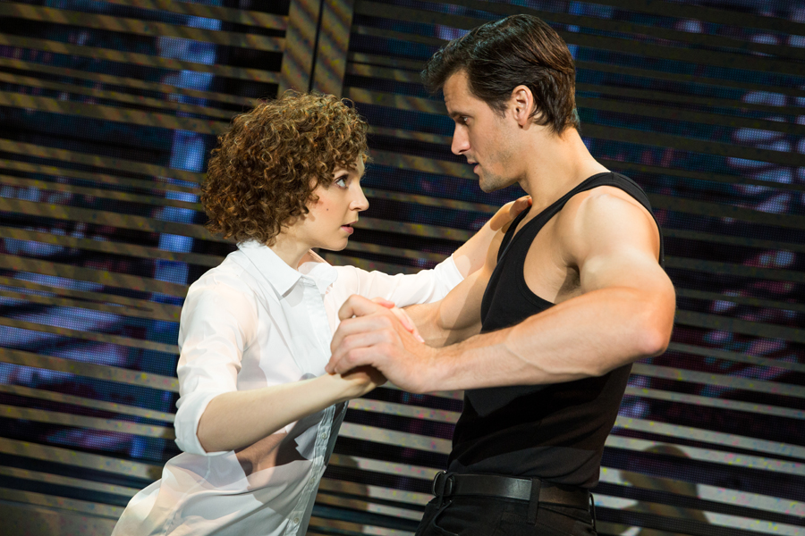Gillian Abbott (Baby) and Samuel Pergande (Johnny) in the North American tour of DIRTY DANCING – THE CLASSIC STORY ON STAGE. (Photo by Matthew Murphy) website