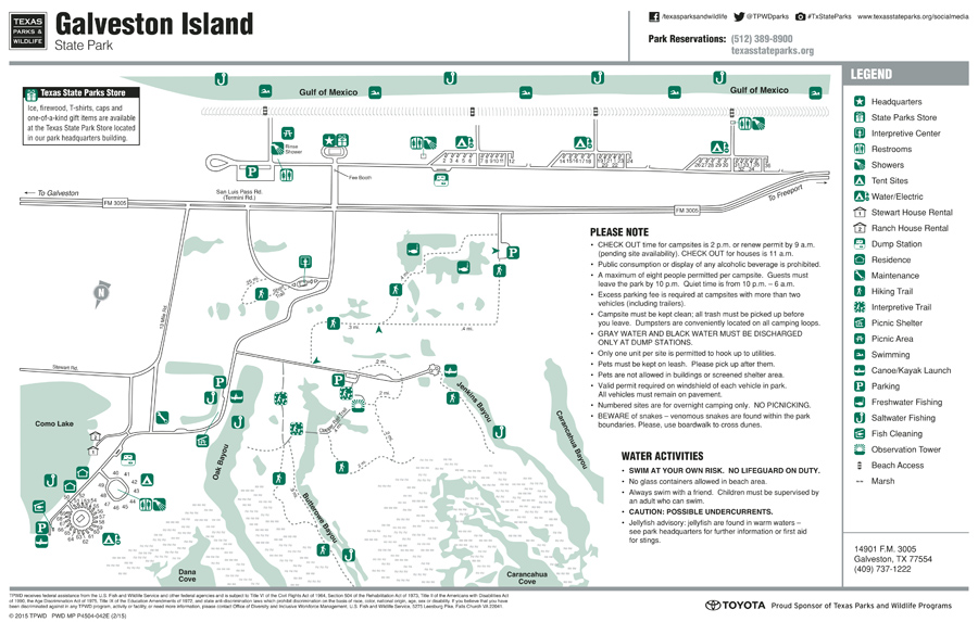 Galveston Island a great getaway for nature lovers – Galveston Tourist Attractions Map