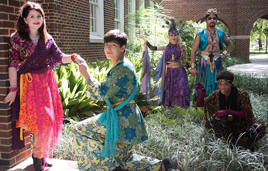 Dallas' Junior Players perform 'A Midsummer Night's Dream'