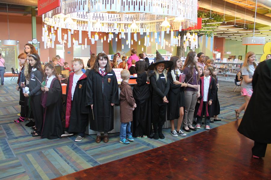 Harry Potter birthday celebrated