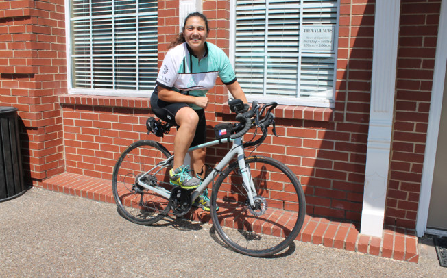 Cyclist to ride Route 66 inspiring others
