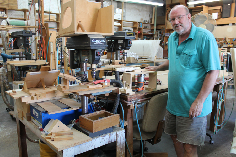 Wylie woodworker follows life's design
