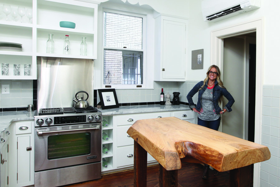 Keeping the character: Renovation with original charm in mind