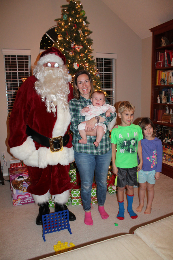 Wylie family gets Christmas treat