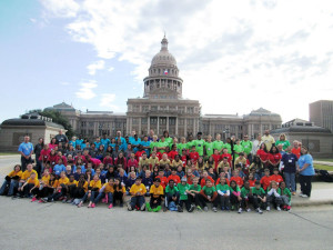 Dodd Elementary fourth graders' participated in the Education in Action's Discover Texas Field Trip to Austin, Friday, Jan. 8. Students saw first-hand where Texas laws are made as they toured the State Capitol including the Senate and House of Representatives chambers.