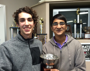 Wylie High School Debate Team members, Dylan Matthews and Akash Sharma, qualified for the Texas Forensic Association in the Policy Debate category.