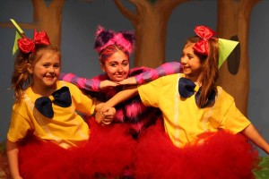 "Characters from the Wylie Acting Group for Children's new show ""Over the River and Into the Woods: A Fairy Tale Accident"" are getting ready to take to the stage Feb. 26-27 and March 4-5. Pictured are Darcy Christner, Ainsley James and Jayci James. For ticket info go to wagforchildren.org."