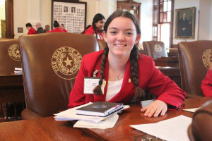 Wylie East High School student Haley Proctor was recently elected as a 2016-'17 District Officer for SkillsUSA Texas District 5, along with McKenna Steiner and Afrida Tasnim.
