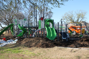 Olde City Park is getting a makeover complete with new slides, swings and much more.