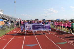 The survivor lap is celebrated at the annual Relay for Life event. This year, the walk is slated for April 29-30 at Sachse High School.