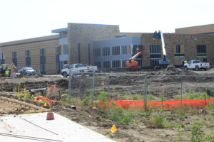 Bush Elementary is expected to be finished on time.