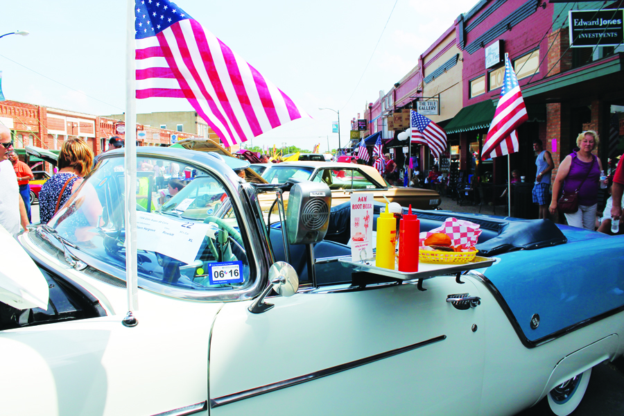 Cars, stars and stripes