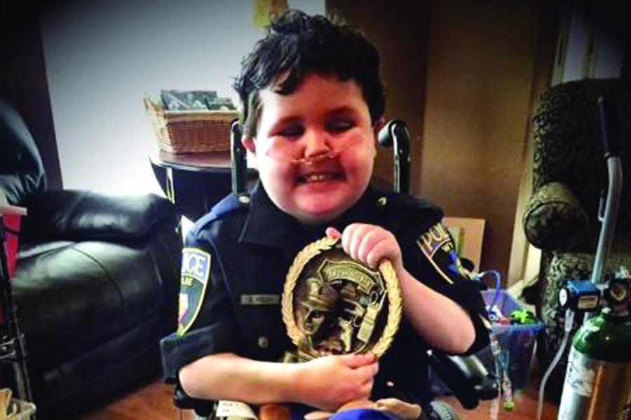 Honorary policeman loses lifelong battle