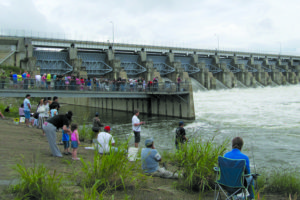 Lake Lavon provides water for 1.6 million people in North Texas. It is filled from rainfall and through water flow from rivers and creeks in its watershed, an area of 768 square miles.