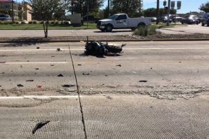 A two-car accident involving a Subaru Outback and Kawasaki motorcycle were involved in a fatality accident in the afternoon hours of Thursday, Sept. 29.