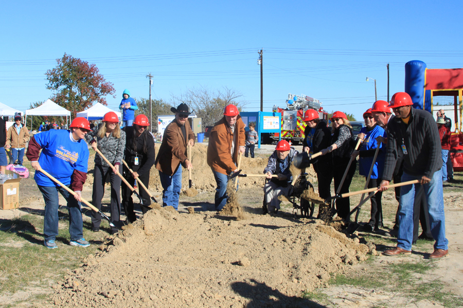 Breaking ground, building hope