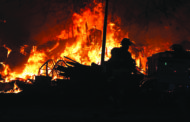 Fire displaces family of six in Nevada