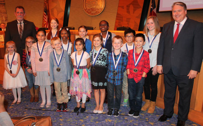 Wylie Way recipients honored at council meeting