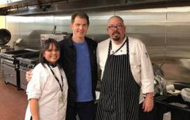544 Cafe gets surprise visit from celebrity