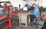 New metal art shop creates custom pieces