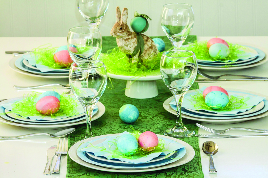 A spring-inspired Easter brunch
