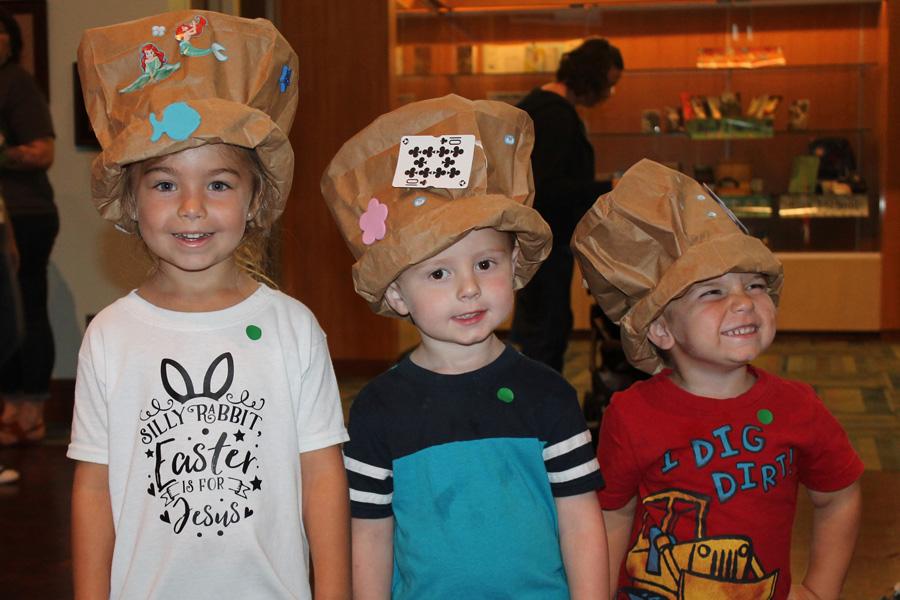 Top hat trio