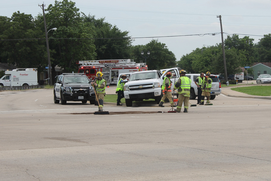 Wreck impedes traffic on Hwy. 78