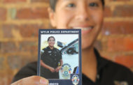Wylie Police trading cards, of themselves