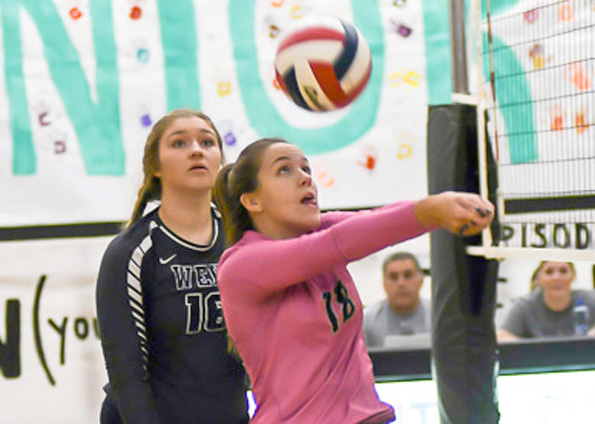 Wylie East volleyball advances to area round