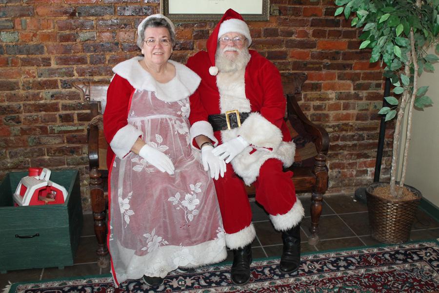 Playing Santa is a seasonal calling
