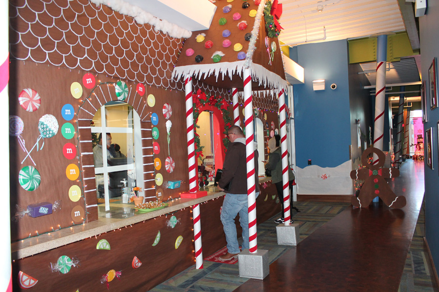 City Hall transformed for holidays
