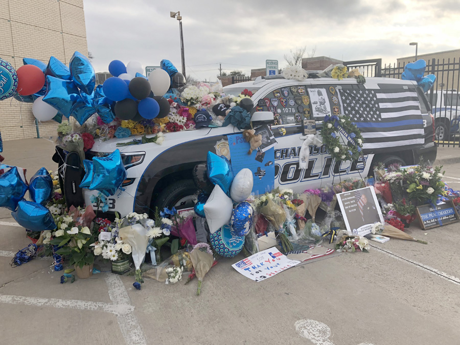 Slain police officer was Wylie resident