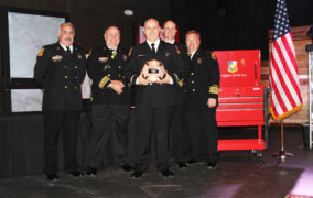 Fire department presents annual awards