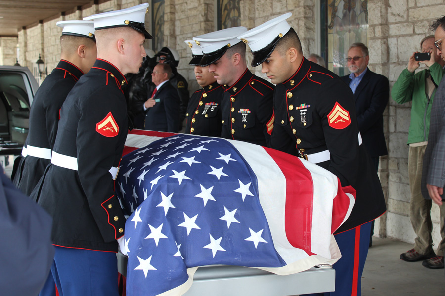 Video: World War II veteran's remains returned to family