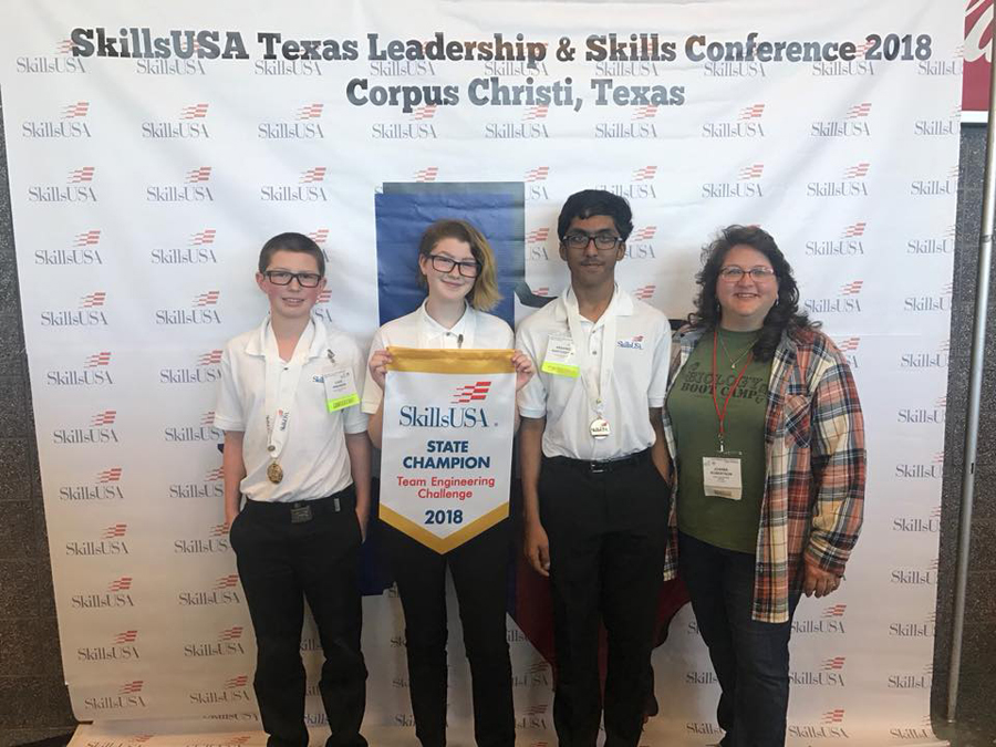 WISD students compete at SkillsUSA in Corpus Christi