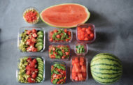 Perfectly portable watermelon dishes