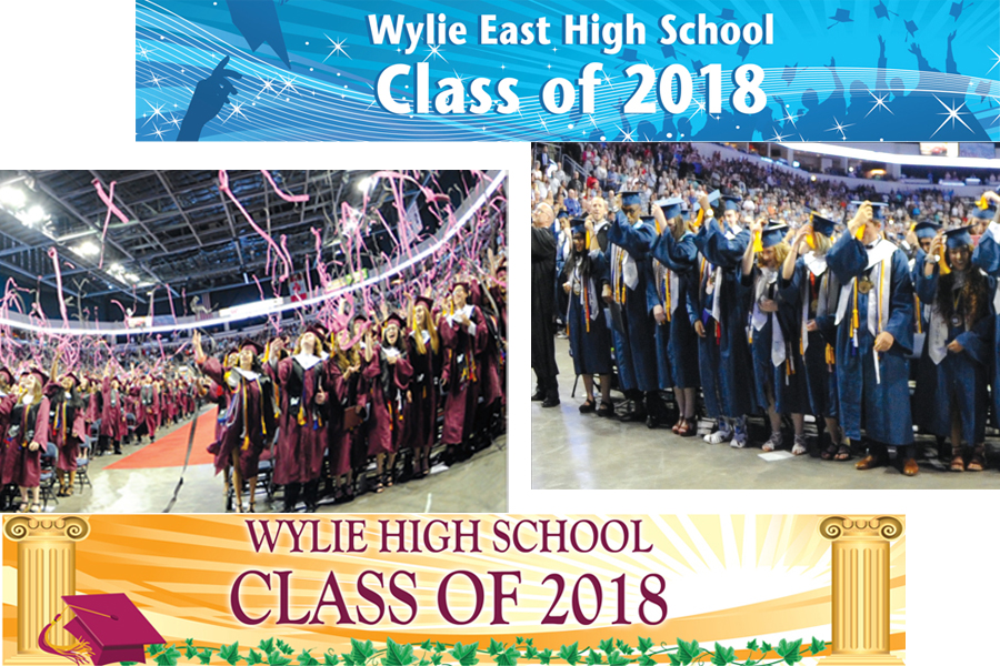 Copies of Wylie Graduation Sections available