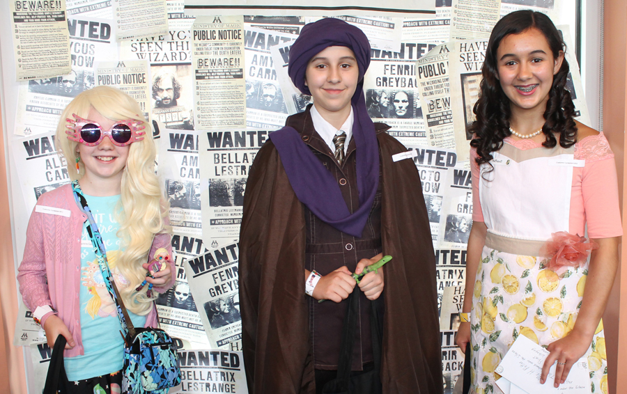Video: Aparecium! Harry Potter comes to Smith Library