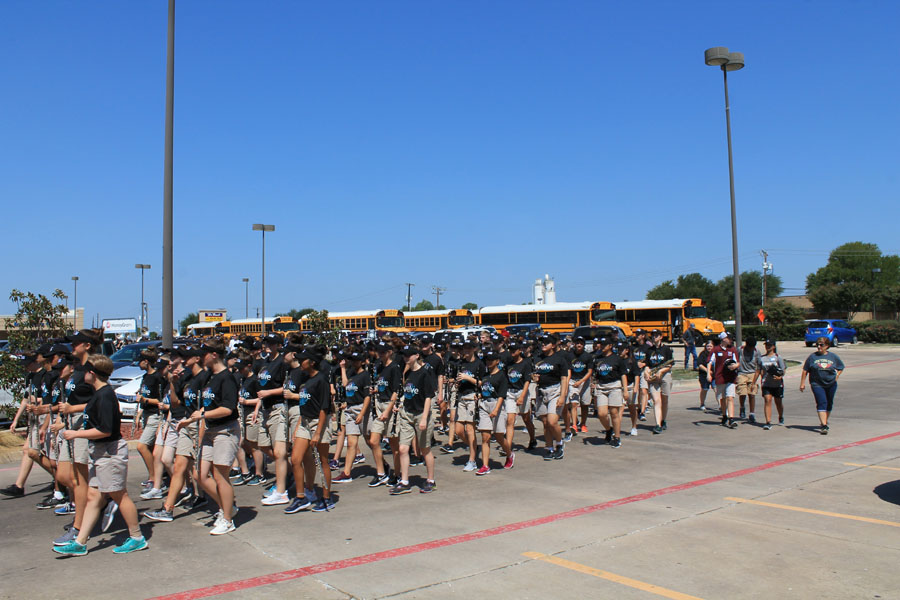 Video: That Wylie Band holds March-A-Thon
