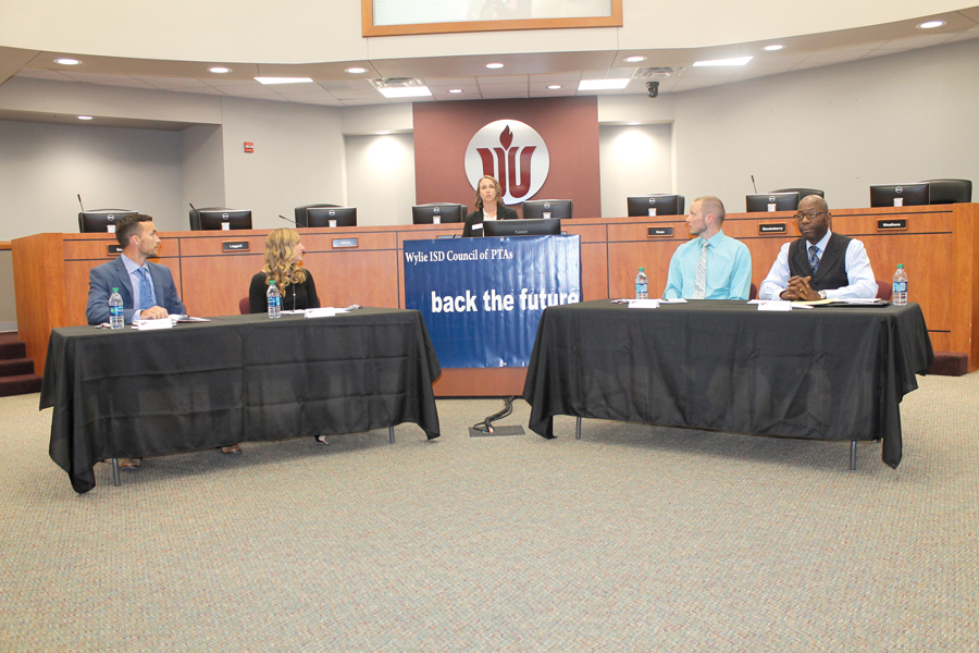 WISD candidates participate in voters forum