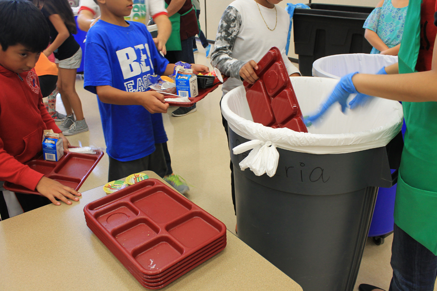 WISD works to reduce waste