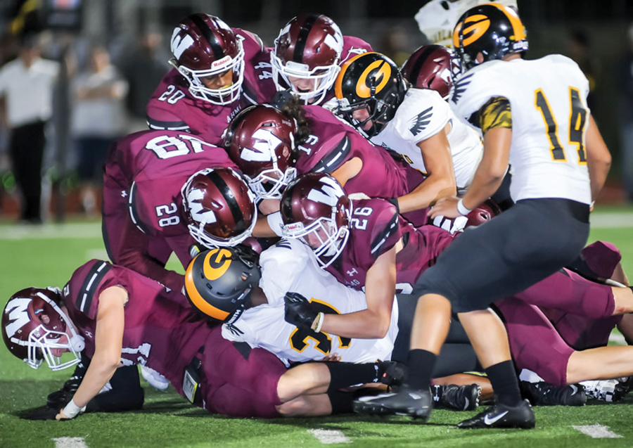 Pirates earn first win on Homecoming