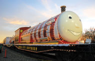 Holiday Express rolls into town Friday