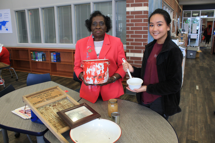 Black History Month artifact display connects generations