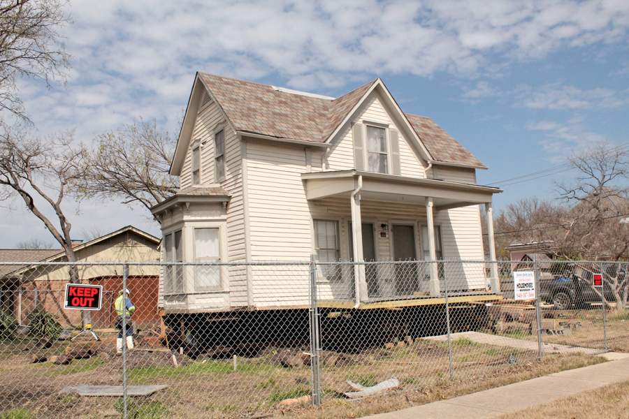 Vintage home gets some support