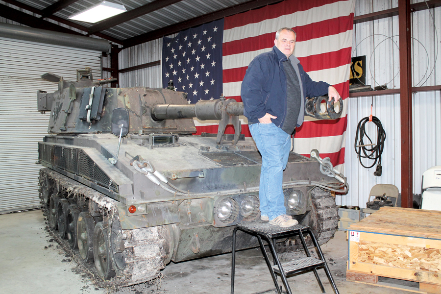 Military museum offers visitors hands-on experience
