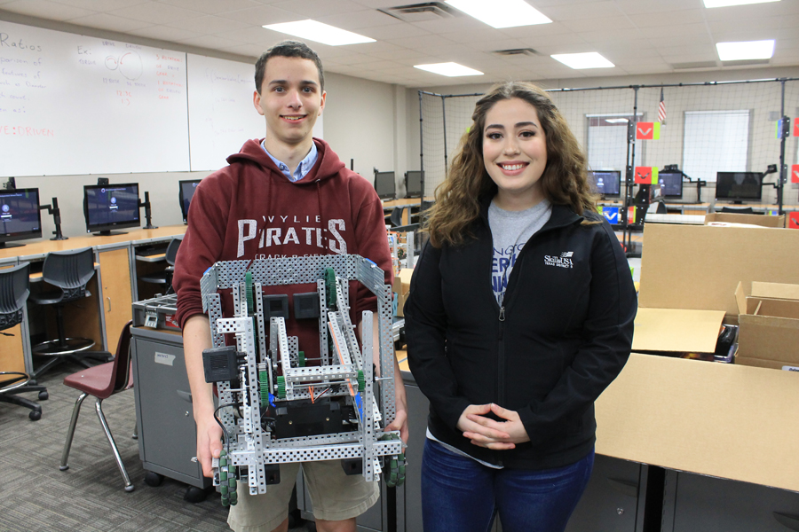 Wylie High students head to SkillsUSA robotics competition
