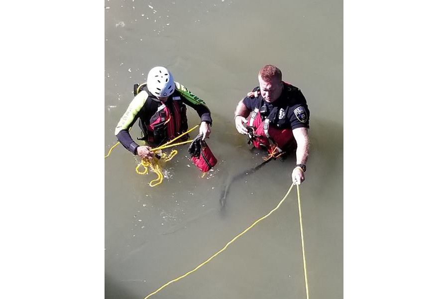 Swift water prompts swift rescue