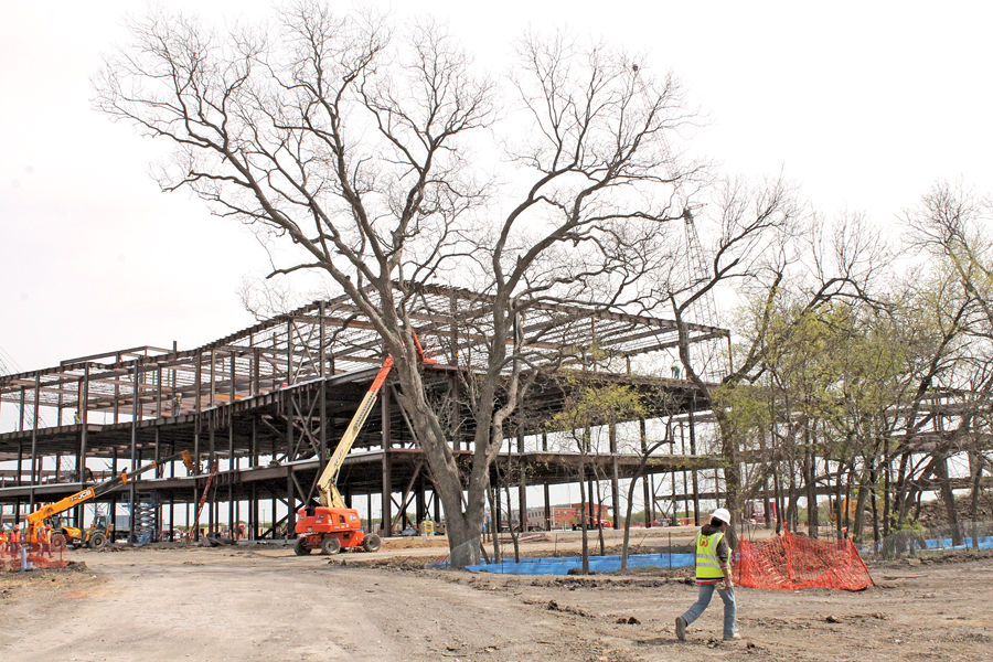 Collin College construction stays on schedule