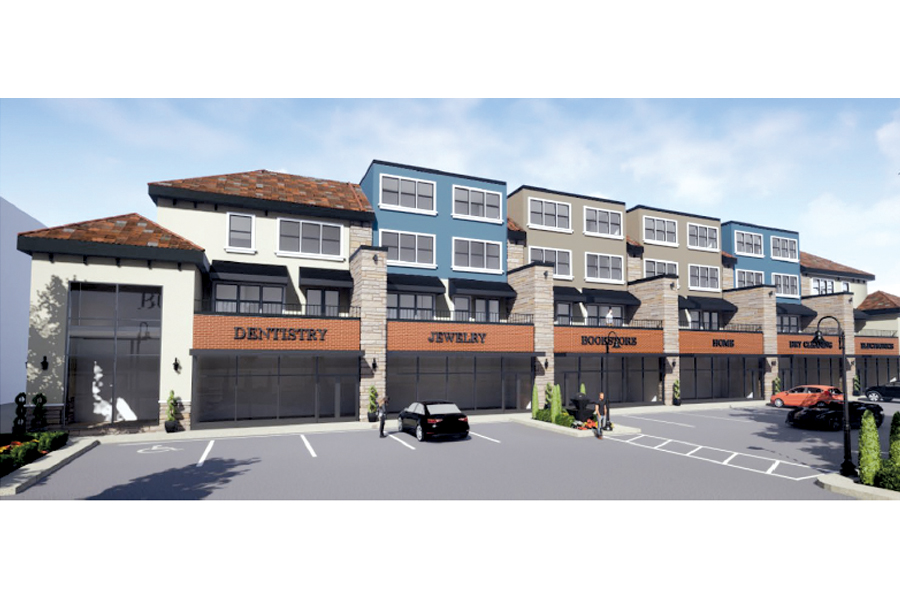 Mixed-use project presented